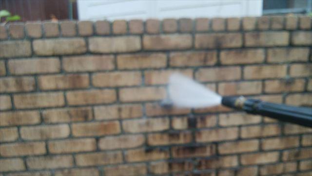 塀 バイオ洗浄