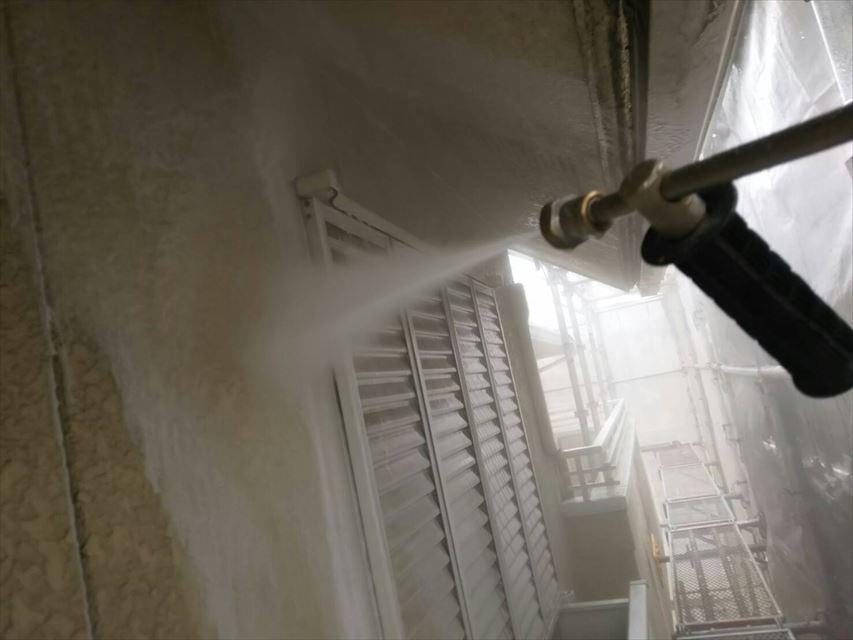 多治見西坂中神外壁バイオ洗浄
