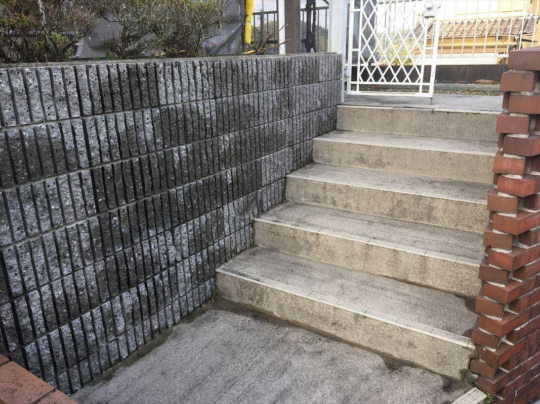 可児市 外構の洗浄 コンクリートの洗浄