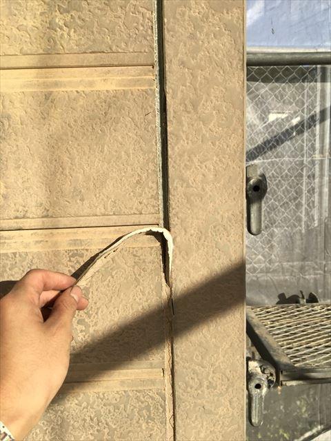 可児市外壁シーリング打ち替え