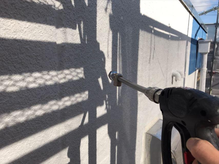 多治見市若松町外壁バイオ洗浄