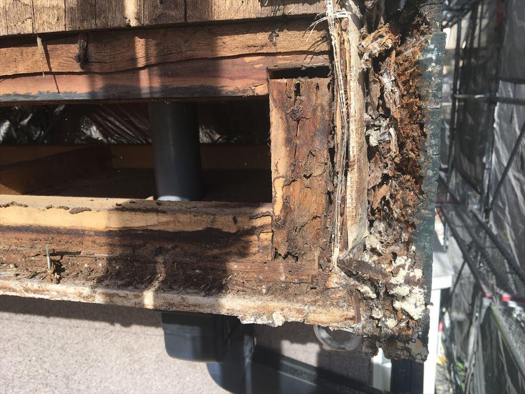 春日井市 外壁の補修 雨漏り補修