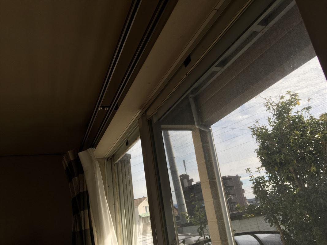 多治見市 サッシ窓の交換 取り外して新しいサッシの取り付け