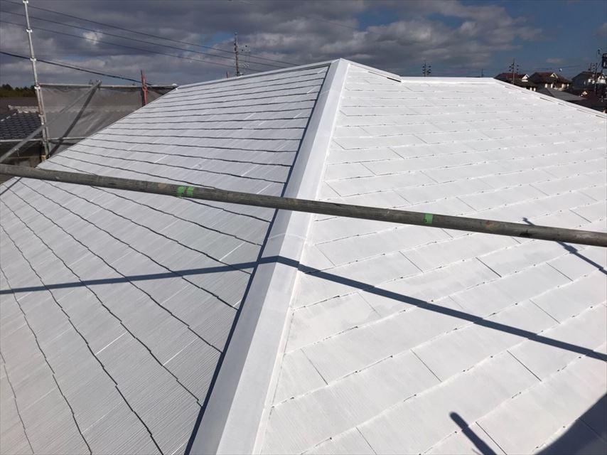 多治見市脇之島町屋根遮熱機能下塗り