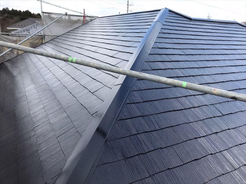 多治見市脇之島町屋根遮熱塗料