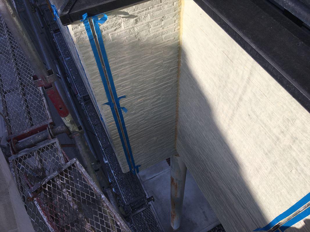 多治見市 外壁屋根塗り替え 目地のコーキングの打ち替え