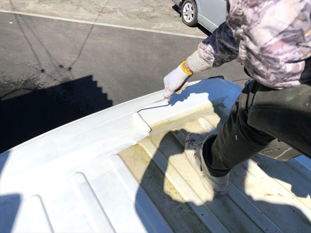 多治見市 鉄の塗装 物置倉庫の塗装