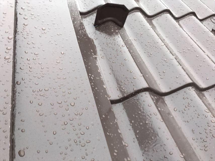 多治見市滝呂町雨のため作業中止