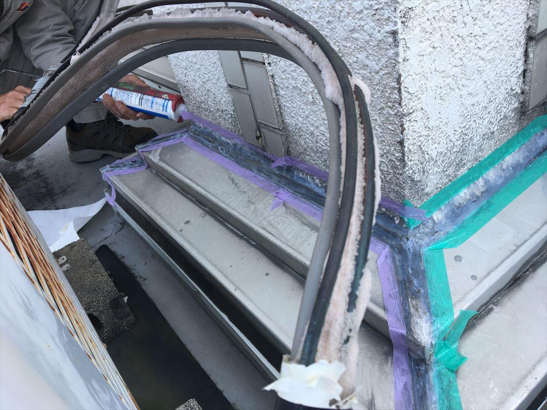 多治見市 コーキング工事 雨漏り対策