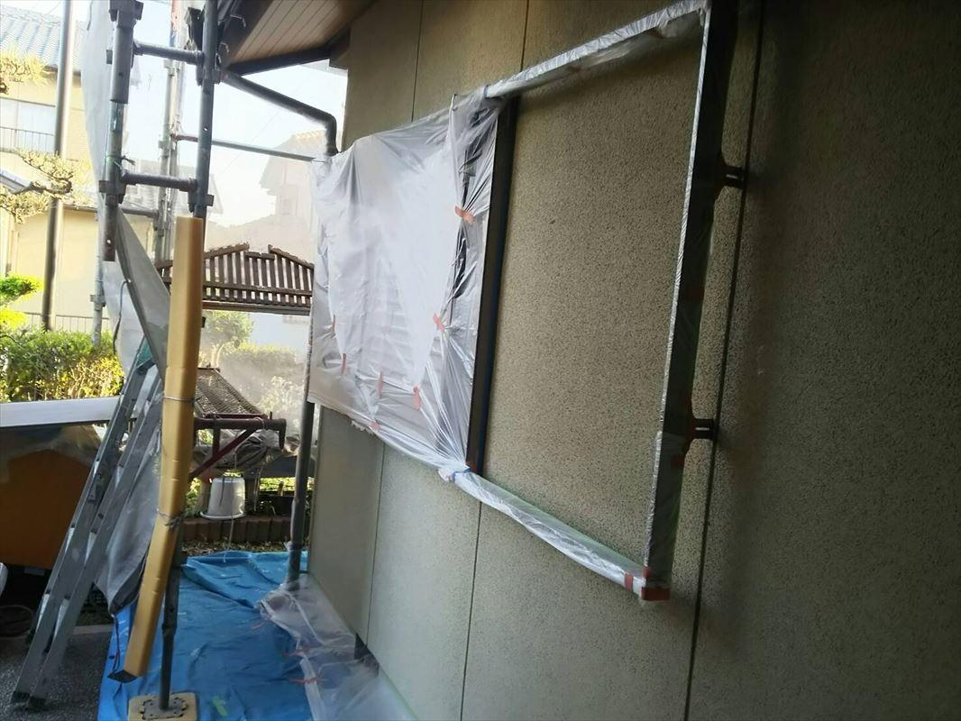 多治見 外壁塗装 雨戸塗装