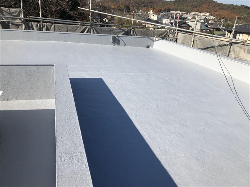 土岐市屋上屋根防水膜