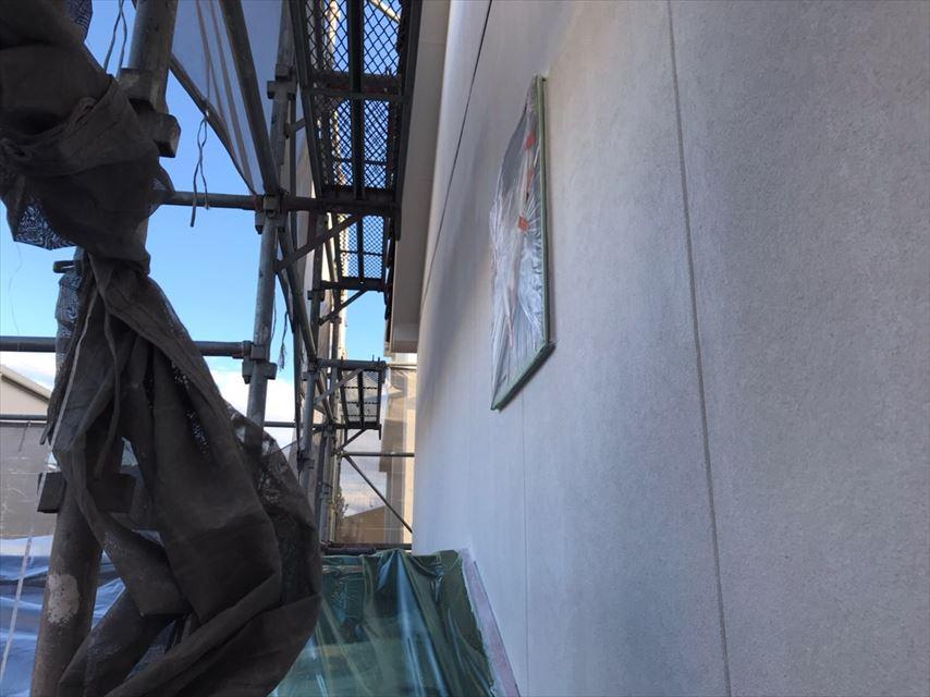 多治見市脇之島町外壁塗り替え養生
