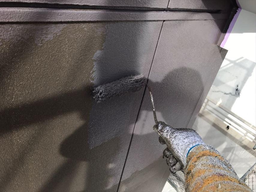 多治見市脇之島町で防カビ材を混ぜて、外壁の塗り替えをしました