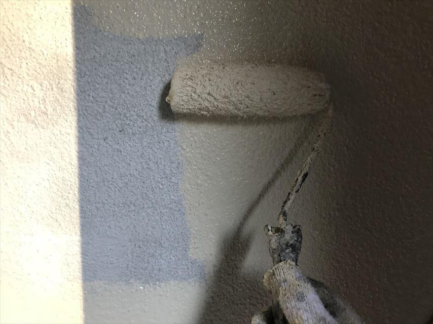 土岐下石林外壁中塗り