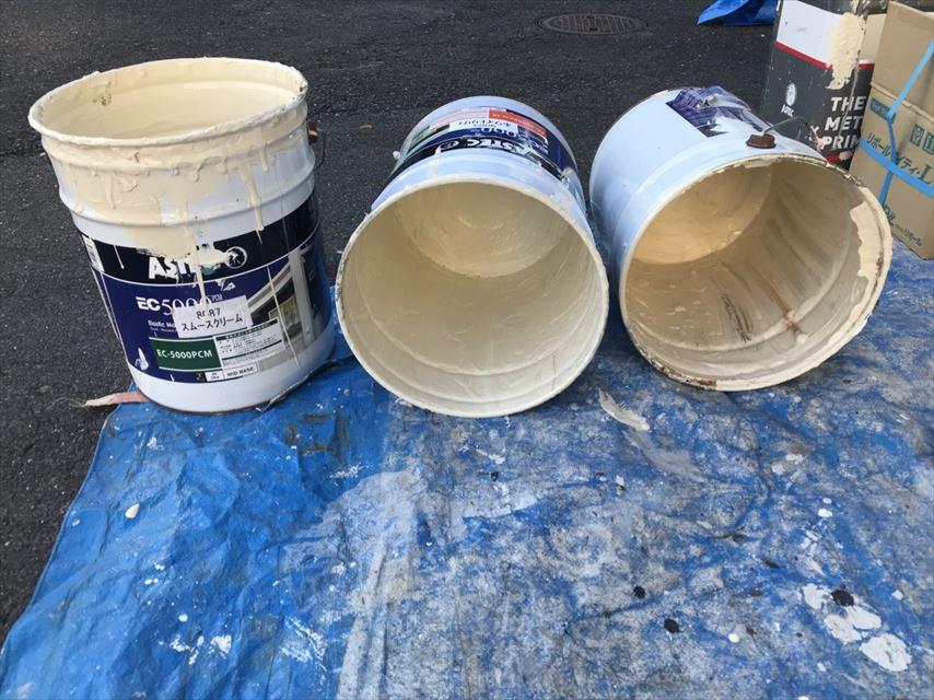 土岐市外壁伸びる塗料