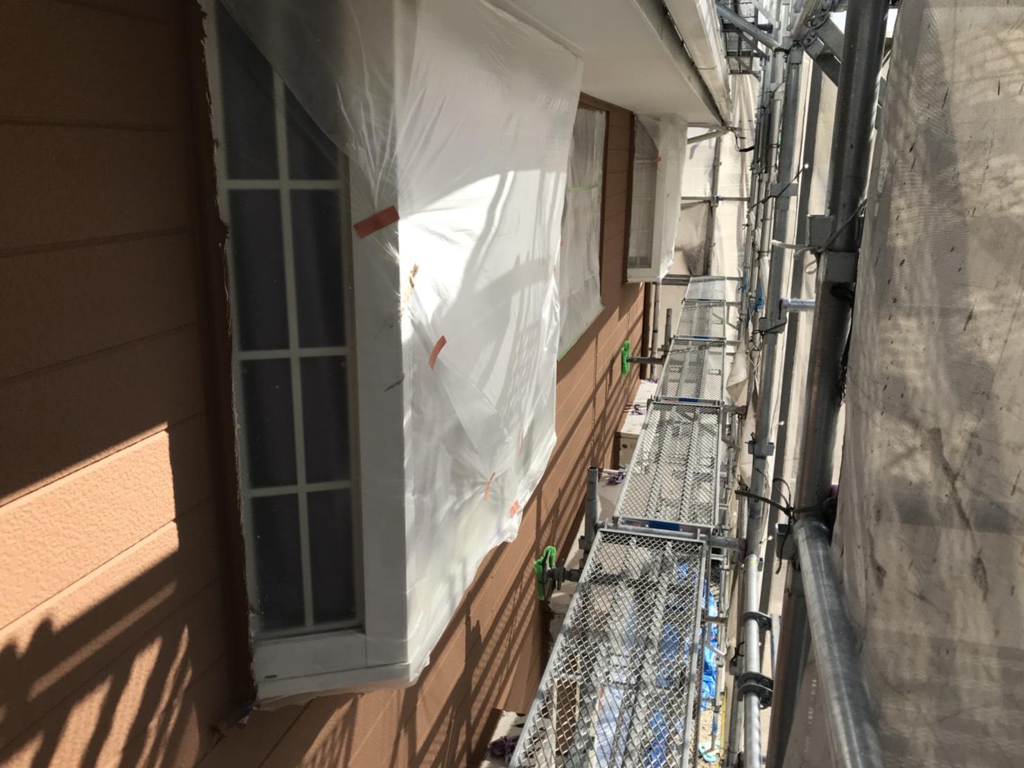 多治見市外壁上塗り