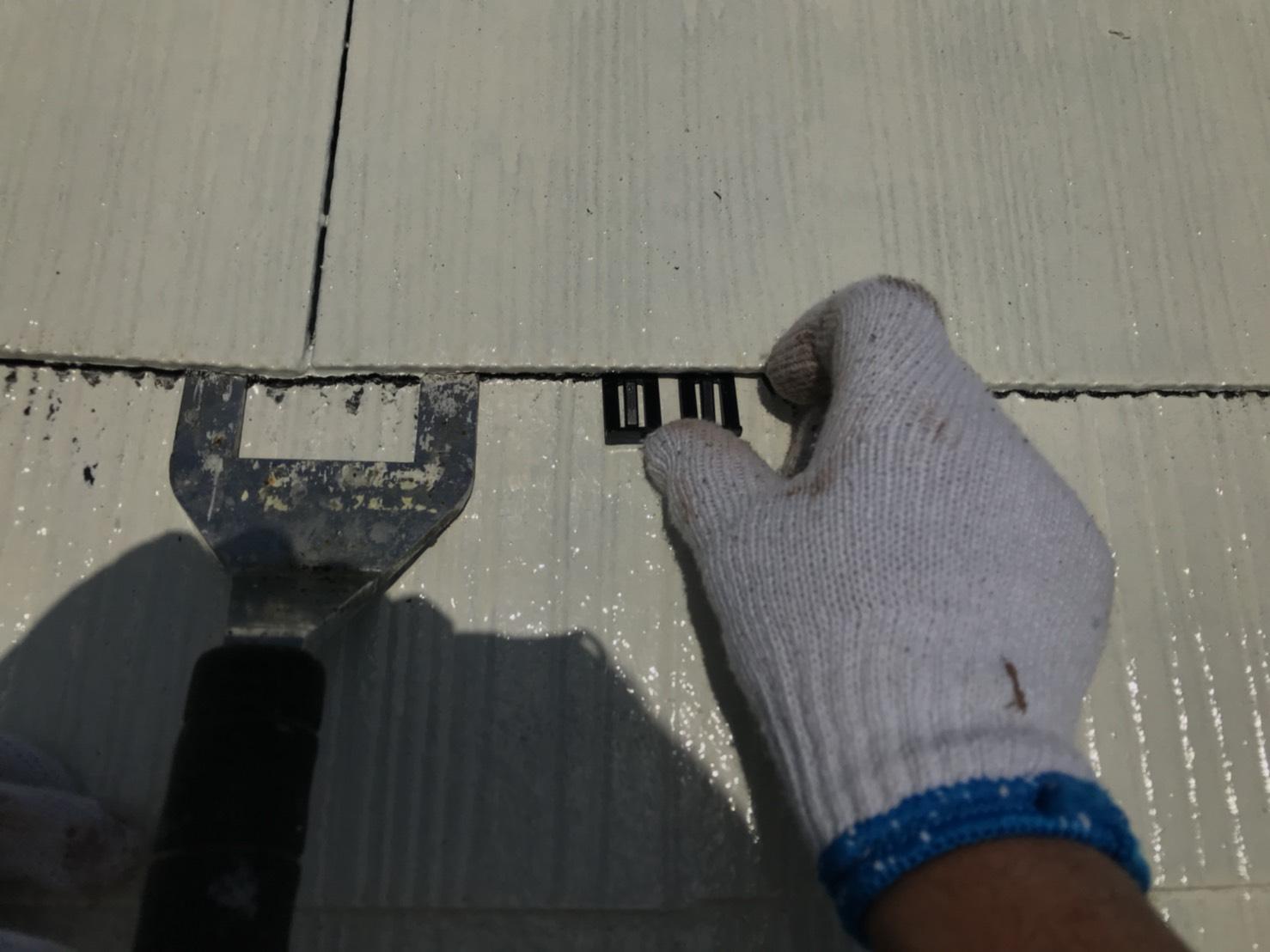 可児市スレート屋根塗り替え