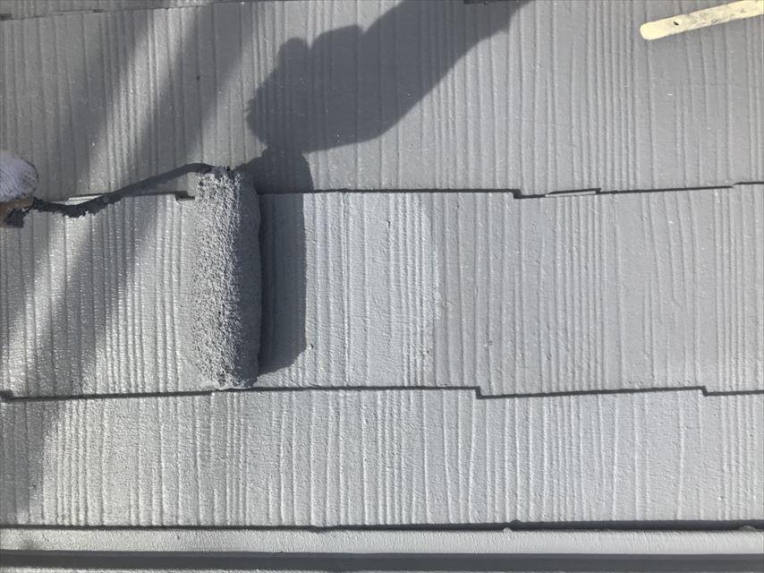 土岐市屋根上塗りガイナ