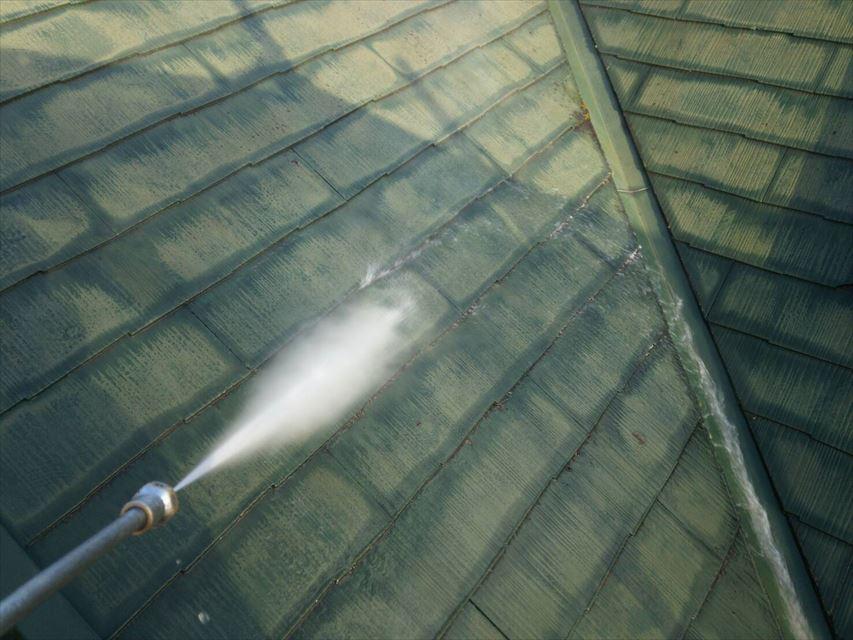 土岐市屋根バイオ洗浄