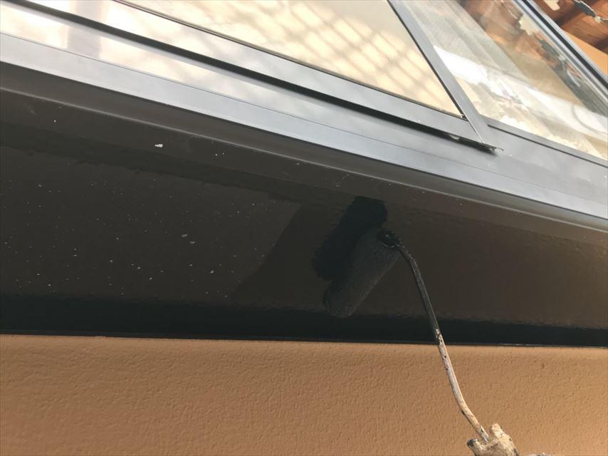 土岐市出窓下塗り替え