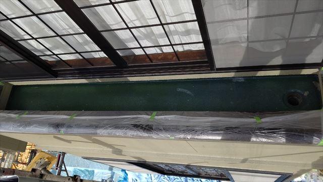 瑞浪市陶町でベランダ防水工事