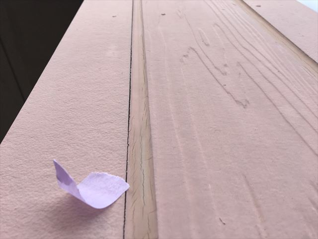 サイディング外壁の隙間