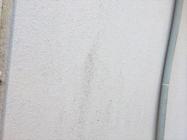 可児市、外壁の色褪せ