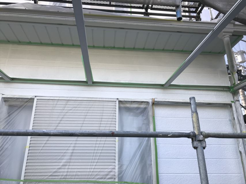 多治見市希望ヶ丘外壁ガイナ塗り替え