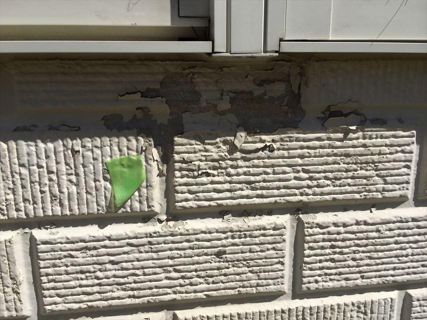 外壁の塗装がボロボロ