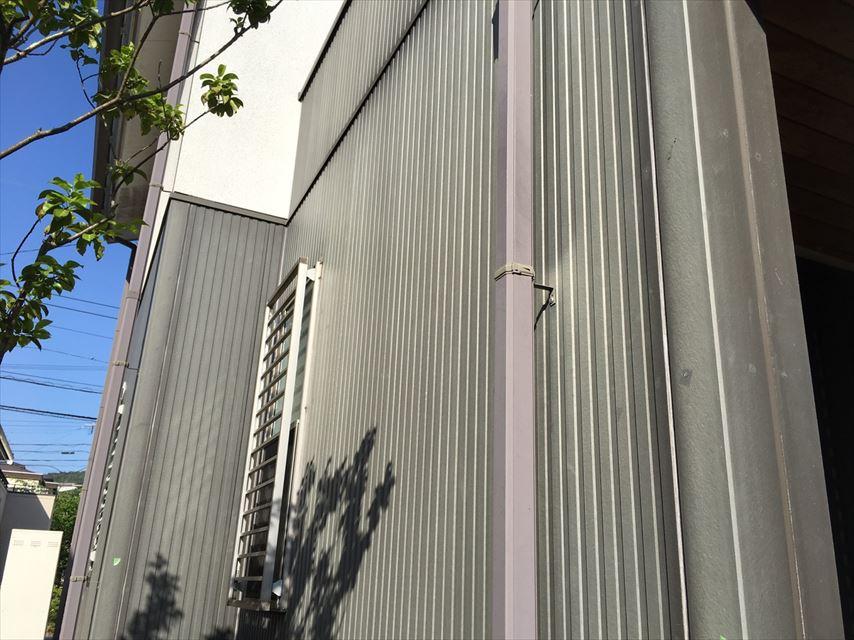 外壁の塗装が薄い