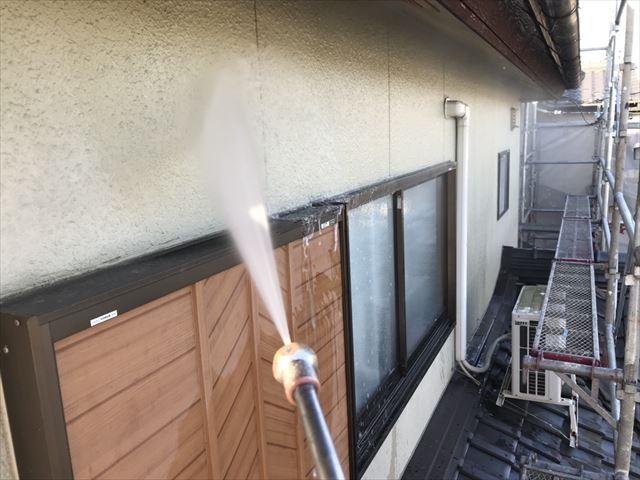 可児川合青山外壁洗浄