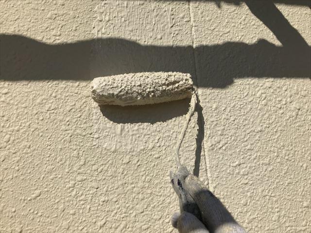 可児川合青山外壁上塗り
