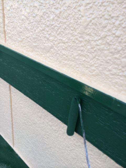 幕板の塗り替え