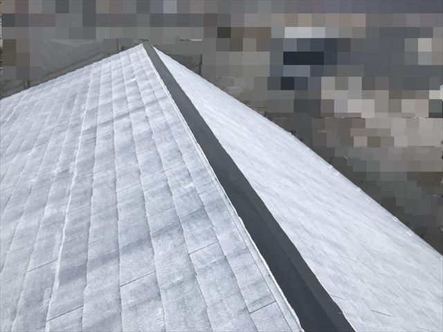 恵那市大井町屋根下塗り塗装