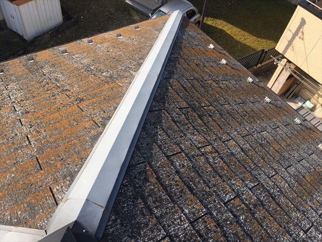 恵那市で屋根塗装の現地調査