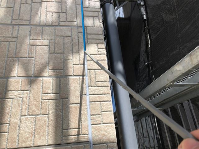 恵那市、外壁のバイオ洗浄