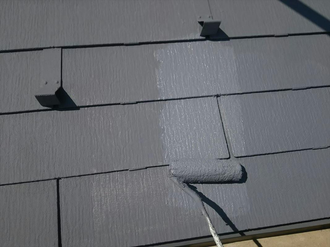 多治見 屋根塗り替え ガイナ塗装で熱を遮る 上手
