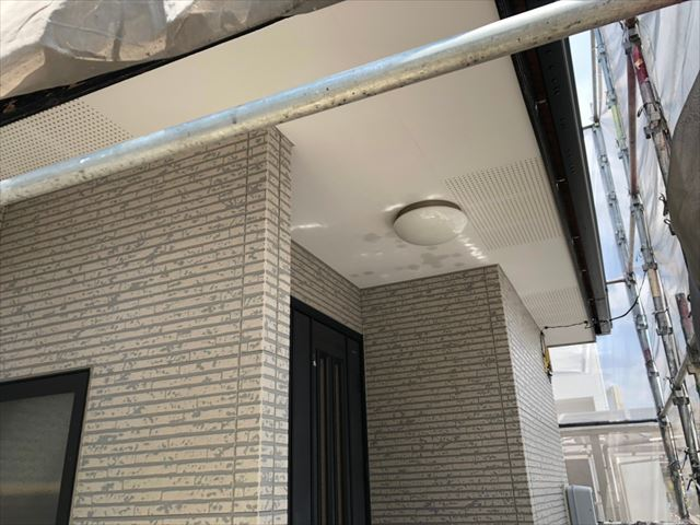 土岐市、外壁の洗浄