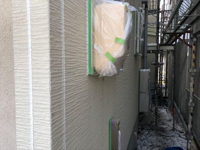瑞浪市で外壁目地打ち替え完了