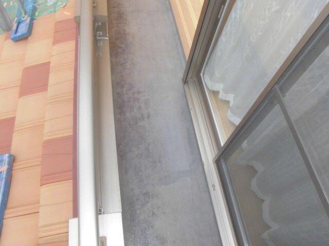 恵那市岩村で外壁塗装 ベランダ塗装L1