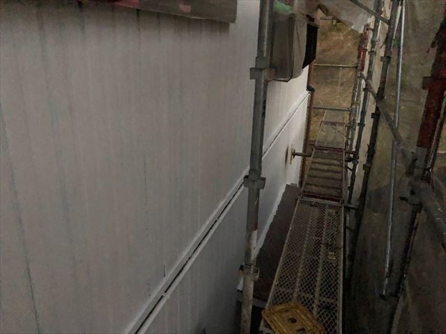 恵那市長島町で外壁下塗りメタルプライマー