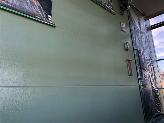 外壁の塗装が完了です